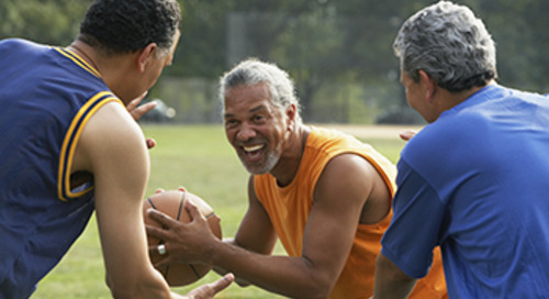 Five healthy habits for men aged 50 and older