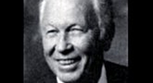 History of Merrill P. Spencer Endowed Lectureship