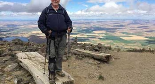 New brace helps some with MS keep moving: A hiker's story