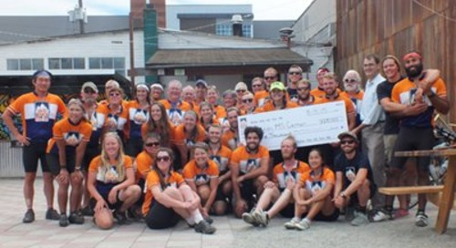 Bike the US for MS donates $25,000 to Swedish MS Center
