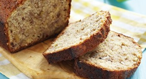 A recipe for good health: Easy banana bread