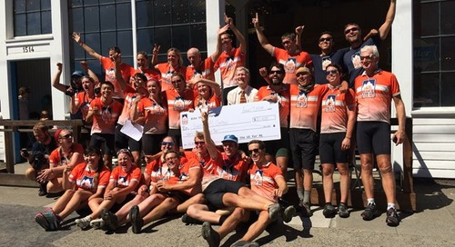 Bike the US for MS donates $20,000 to Swedish Multiple Sclerosis Center