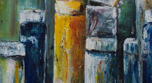 Accepting Art for the Multiple Sclerosis Center Art Show 2015