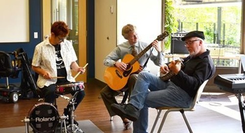 Get Back your Music Sessions at the Multiple Sclerosis Center