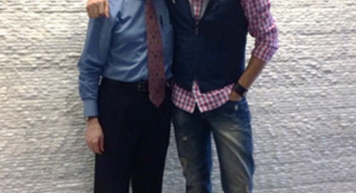 Musician David Osmond Tours the Multiple Sclerosis Center with Dr. James Bowen