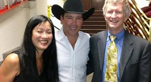 Swedish multiple sclerosis neurologists educate about MS with country artist Clay Walker