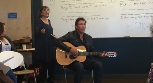 Country Music Artist Clay Walker Visits the Swedish Multiple Sclerosis Center