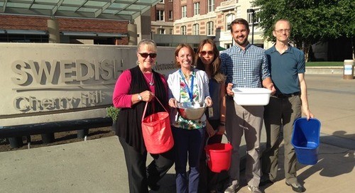 What is ALS and why did it inspire ice bucket challenges at Swedish?