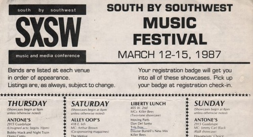 Six Surprising Things You Probably Didn't Know About SXSW