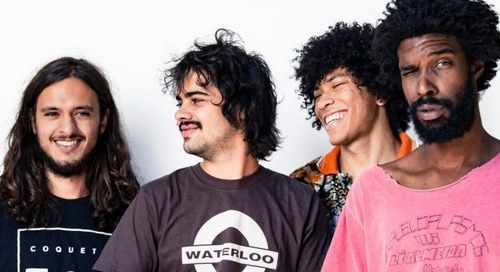 Q&A and Portrait Gallery: Boogarins