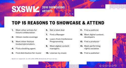 Reminder: Early Artist Application Deadline Next Friday, September 9