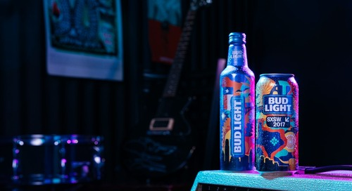 Bud Light Special Packaging at SXSW 2017