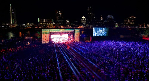 Garth Brooks at the SXSW Outdoor Stage at Lady Bird Lake