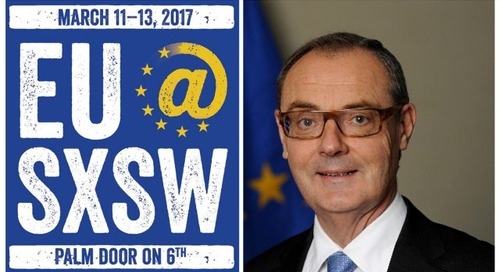 EU Ambassador David O'Sullivan Welcomes You To EU@SXSW