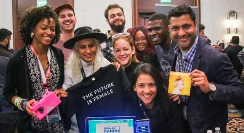 Madame Gandhi Creates Augmented Reality Merch App at 2017 SXSW Hackathon