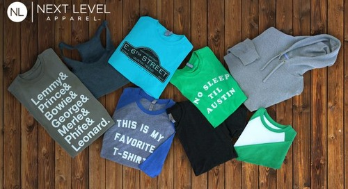 With Next Level Apparel Your SXSW T-Shirt Is Softer Than Ever