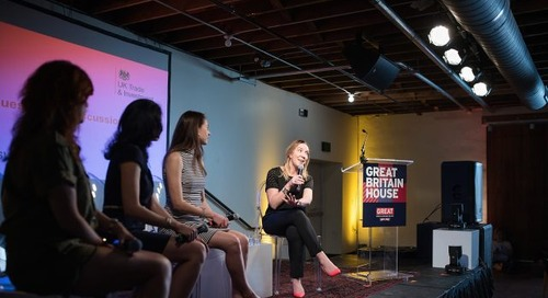 Brits Imagine A Better World, A Better Future, A Better Self at SXSW
