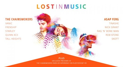 "Sony Challenges Music Fans to Rethink Reality and Get ""Lost In Music"""