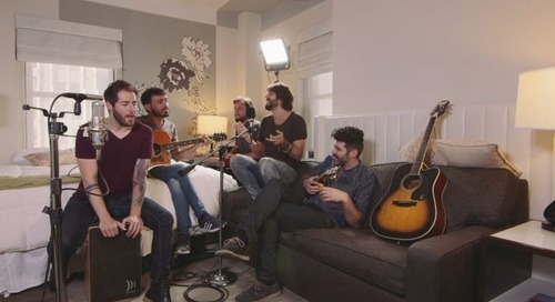 Hotel Rooms Become Live Music Venues with Room Service Show