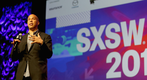 Cory Booker Interactive Opening Speaker at the 2017 SXSW Conference [Video]