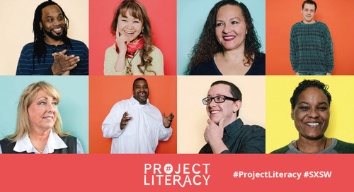 "Project Literacy Wants You to ""Give Your Word"""