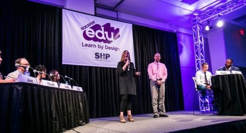 SXSW EDU Learn by Design Entry Deadline Extended through Sunday, November 5