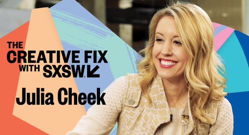 Julia Cheek on The Creative Fix with SXSW [Video]