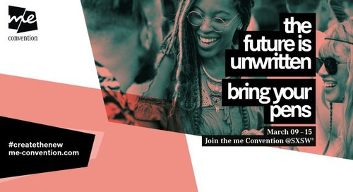 Be a Pioneer. Join the me Convention.