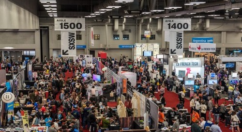 SXSW Trade Show Featured Exhibitors: Caterpillar Foundation and Abstract