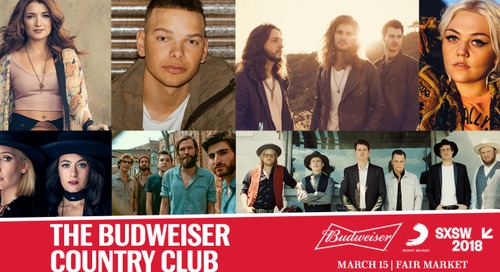 Budweiser to Host Star-Studded Country Music Showcase
