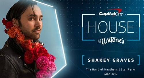 Capital One's Exclusive Music Lineup Announced