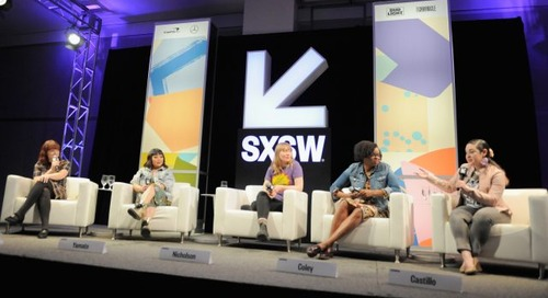 The Female Voices of Film Twitter Featured Session Moderated by Alicia Malone at SXSW 2018 [Video]