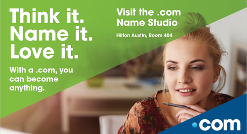 Think It. Love It. Name It. Find the Perfect Name for Your Startup at the .com Name Studio!