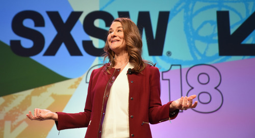 Melinda Gates Interactive Keynote at SXSW 2018 [Video]