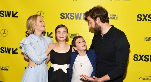 2018 SXSW Film Festival Opening Night Film, A Quiet Place In Theaters Now [Video]