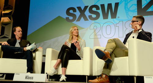 Eric Liedtke & Karlie Kloss: Create the World You Want to Live In Featured Session at SXSW 2018 [Video]