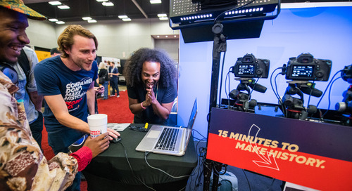 The SXSW Trade Show from Both Sides of the Booth