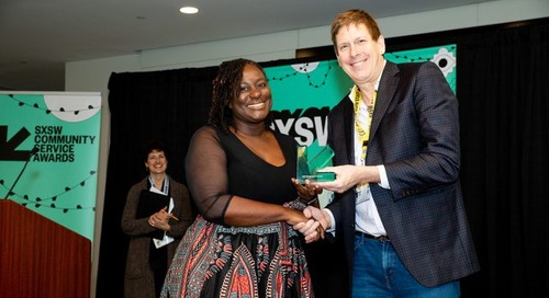 SXSW Community Service Awards 2020: Deadline Extended to September 8