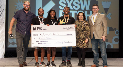 SXSW Pitch 2020: Early Deadline September 6