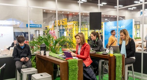 Introducing the Trade Show Hub and Simulcast Lounge for 2020