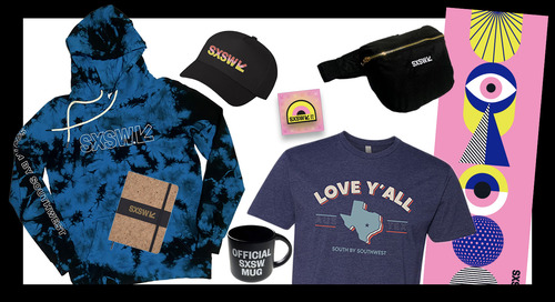 Get Your SXSW Merch: New 2021 Gear and Collaborations for a Cause