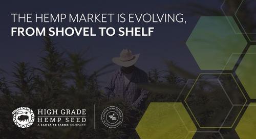 The Hemp Market is Evolving, From Shovel to Shelf