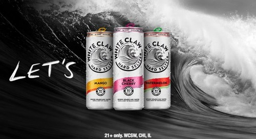 White Claw Hard Seltzer Launches First-Ever Global Campaign – Let's White Claw