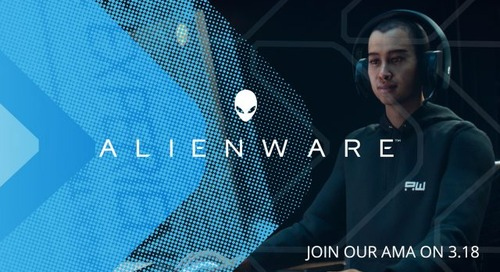 Alienware Hosts an Ask-Me-Anything