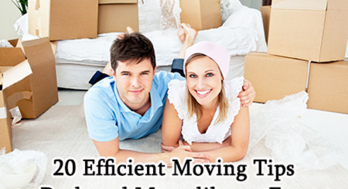 20 Efficient Moving Tips to Pack and Move like an Expert