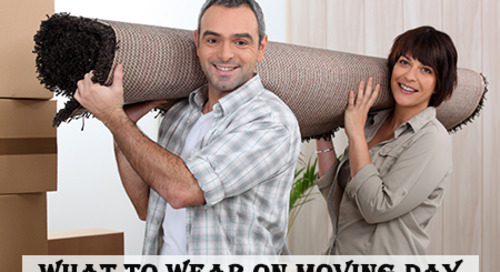 What to Wear When Moving: Your Dress Code on Moving Day