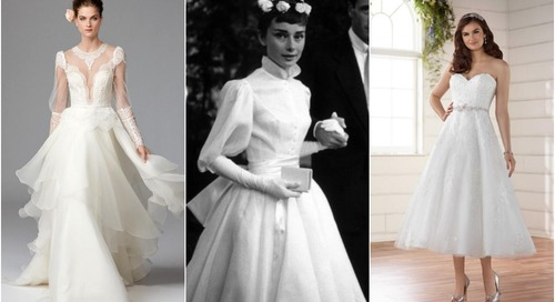 Celebrity Wedding Inspiration: Audrey Hepburn