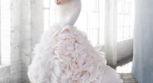 Blushing Brides: 10 Gowns That Will Make You Want a Blush Wedding Dress