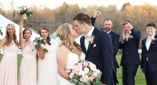 You Make Me Strong | Taylor & Brandon Tie The Knot