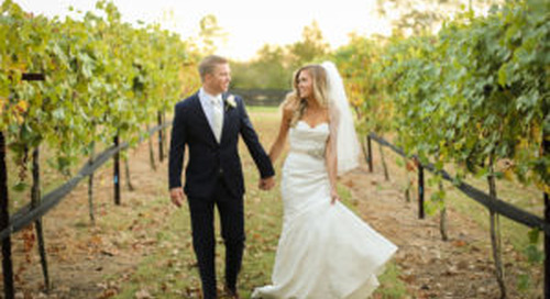 5 Reasons To Have Your Wedding At A Vineyard